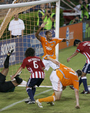 Aug 20, 2008, Chivas USA vs Houston Dynamo - Ricardo Clark Photographic Print by Thomas B. Shea