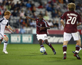 Sep 20, 2008, New England Revolution vs Colorado Rapids - Omar Cummings Photographic Print by Garrett Ellwood
