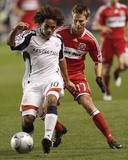 2009 Conference Semifinals Game Two: Nov 7, New England Revolution vs Chicago Fire - Kevin Alston Photo by Brian Kersey