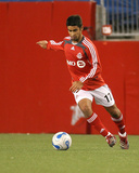 Apr 14, 2007, Toronto FC vs New England Revolution - Paulo Nagamura Photographic Print by Jim Rogash