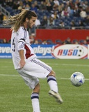 Oct 4, 2008, Real Salt Lake vs New England Revolution - Kyle Beckerman Photographic Print by Martin Morales