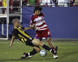 Jul 8, 2008, Charleston Battery vs FC Dallas - Osvaldo Alonso Photo by Rick Yeatts
