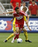 Sep 20, 2009, Columbus Crew vs Chicago Fire - Brian Carroll Photographic Print by Brian Kersey