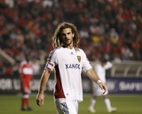 2009 Eastern Conference Championship: Nov 14, Real Salt Lake vs Chicago Fire - Kyle Beckerman Photographic Print by Brian Kersey