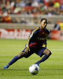 Oct 14, 2009, New York Red Bulls vs Real Salt Lake - Robbie Findley Photographic Print by Melissa Majchrzak