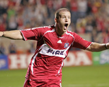 Jun 28, 2006, Real Salt Lake vs Chicago Fire - Chad Barrett Photo by Brian Kersey