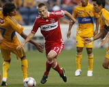 Jun 27, 2009, Chicago Fire vs Tigres UANL - Chris Rolfe Photo by Brian Kersey