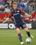 May 17, 2008, San Jose Earthquakes vs New England Revolution - Jeff Larentowicz Photographic Print by Martin Morales