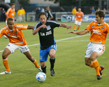 May 22, 2008, Houston Dynamo vs San Jose Earthquakes - Ned Grabavoy Photographic Print by Sara Wolfram