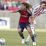 Oct 31, 2008, Real Salt Lake vs Chivas USA - Kyle Beckerman Photographic Print by George Frey