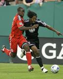 May 10, 2009, Toronto FC vs D.C. United - Nana Attakora Photographic Print by Tony Quinn