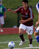Jun 5, 2008, Kansas City Wizards vs Colorado Rapids - Kosuke Kimura Photographic Print by Scott Pribyl