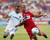 Sep 12, 2009, Chicago Fire vs Real Salt Lake - Robbie Findley Photographic Print by Melissa Majchrzak