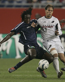 Oct 2, 2004, Dallas Burn vs New England Revolution - Eddie Johnson Photo by Jim Rogash