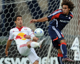 Jun 7, 2009, New York Red Bulls vs New England Revolution - Kevin Alston Photo by Keith Nordstrom