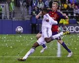 2009 MLS Cup: Nov 22, Los Angeles Galaxy vs Real Salt Lake - Edson Buddle Photographic Print by Robert Mora