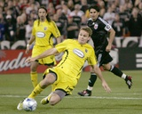 Apr 17, 2008, Columbus Crew vs D.C. United - Chad Marshall Photographic Print by Tony Quinn