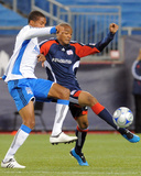 Aug 29, 2009, San Jose Earthquakes vs New England Revolution - Darrius Barnes Photographic Print by Keith Nordstrom
