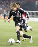 2007 CONCACAF Champions Cup: Mar 15, Guadalajara vs DC United - Brian Carroll Photographic Print by Tony Quinn