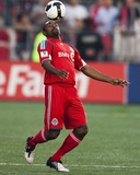 Jul 29, 2009, Puerto Rico Islanders vs Toronto FC - Marvell Wynne Photographic Print by Paul Giamou