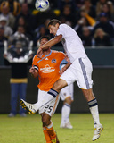 2009 Western Conference Championship: Nov 13, Houston Dynamo vs Los Angeles Galaxy - Omar Gonzalez Photographic Print by Robert Mora