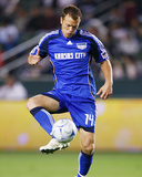 May 30, 2009, Kansas City Wizards vs Los Angeles Galaxy - Jack Jewsbury Photographic Print by Robert Mora