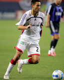 Jul 4, 2006, New England Revolution vs Colorado Rapids - Clint Dempsey Photographic Print by Garrett W. Ellwood