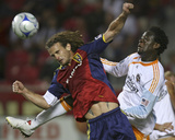 Aug 15, 2009, Houston Dynamo vs Real Salt Lake - Kyle Beckerman Photographic Print by George Frey