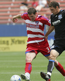 Jun 7, 2009, San Jose Earthquakes vs FC Dallas - Kenny Cooper Photographic Print by Rick Yeatts