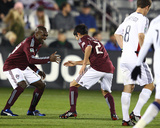 May 2, 2009, Real Salt Lake vs Colorado Rapids - Omar Cummings Photographic Print by Garrett Ellwood