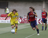 Jul 12, 2008, Columbus Crew vs Real Salt Lake - Kyle Beckerman Photographic Print by Melissa Majchrzak