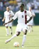2007 CONCACAF Gold Cup: Jun 9, Trinidad & Tobago vs USA - Eddie Johnson Photographic Print by Tony Quinn