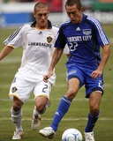 Sep 13, 2008, Los Angeles Galaxy vs Kansas City Wizards - Davy Arnaud Photo by Scott Pribyl