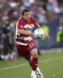 Apr 12, 2008, New York Red Bulls vs FC Dallas - Kenny Cooper Photographic Print by Rick Yeatts
