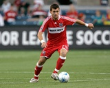 Jun 28, 2008, San Jose Earthquakes vs Chicago Fire - Gonzalo Segares Photo by Brian Kersey