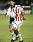 Oct 11, 2008, Chivas USA vs San Jose Earthquakes - Bobby Burling Photographic Print by Sara Wolfram
