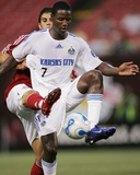 Jul 22, 2006, Kansas City Wizards vs New York Red Bulls - Eddie Johnson Photographic Print by Rich Schultz