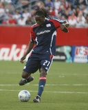 May 29, 2008, D.C. United vs New England Revolution - Shalrie Joseph Photographic Print by Martin Morales