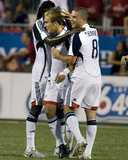 Aug 23, 2008, New England Revolution vs Toronto FC - Chris Tierney Photographic Print by Paul Giamou