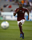 Jun 20, 2009, D.C. United vs Colorado Rapids - Omar Cummings Photographic Print by Garrett Ellwood