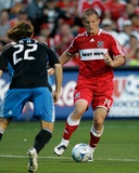 Jun 28, 2008, San Jose Earthquakes vs Chicago Fire - Chad Barrett Photo by Brian Kersey