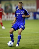Sep 20, 2008, Toronto FC vs Kansas City Wizards - Jack Jewsbury Photographic Print by Scott Pribyl