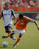 Oct 4, 2009, Kansas City Wizards vs Houston Dynamo - Ricardo Clark Photographic Print by Thomas B. Shea