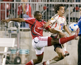 May 23, 2007, Toronto FC vs Benfica - Marvell Wynne Photo by Paul Giamou