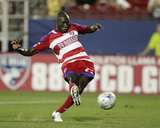 Aug 24, 2008, Real Salt Lake vs FC Dallas - Dominic Oduro Photo by Rick Yeatts