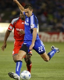 Mar 21, 2009, Toronto FC vs Kansas City Wizards - Davy Arnaud Photographic Print by Scott Pribyl