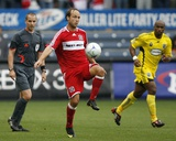 Sep 20, 2009, Columbus Crew vs Chicago Fire - Justin Mapp Photo by Brian Kersey