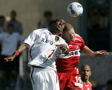 May 27, 2007, Real Salt Lake vs Chicago Fire - Atiba Harris Photo by Brian Kersey