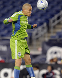 Sep 26, 2009, Seattle Sounders FC vs New England Revolution - Osvaldo Alonso Photo by Keith Nordstrom