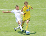 May 17, 2009, Columbus Crew vs Los Angeles Galaxy - Robbie Rogers Photographic Print by Robert Mora